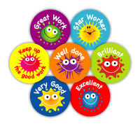 Sticker: Coloured Blobs
