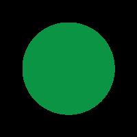Sticker: Mini Dots - Green