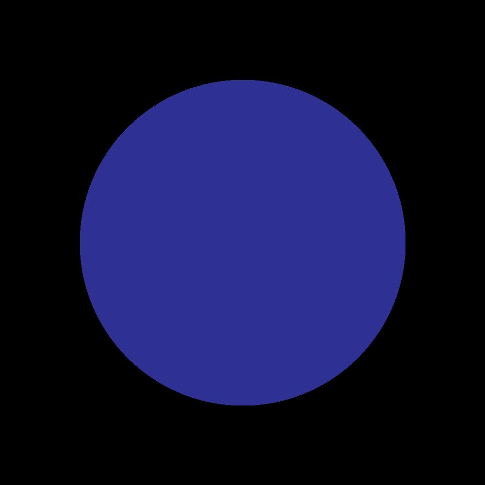 Sticker: Mini Dots - Blue