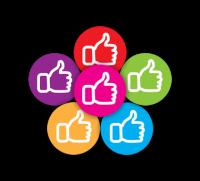 Sticker: Thumbs Up - Mini