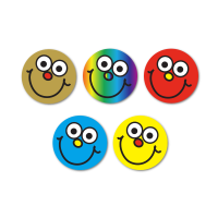 Sticker: Smiley Faces Variety Sheet
