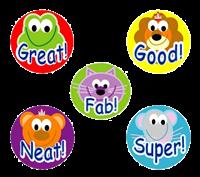 Sticker: Mini Animals Variety Sheet