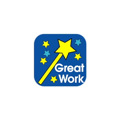 Sticker: Great Work - Wand