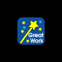 Sticker: Great Work - Wand