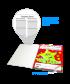 Notepad: Well done Spotty Star - Teacher Quick Notepad