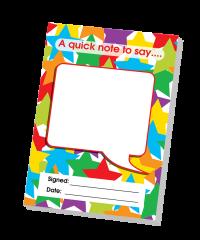 Notepad: Blank- Teacher Quick Notepad