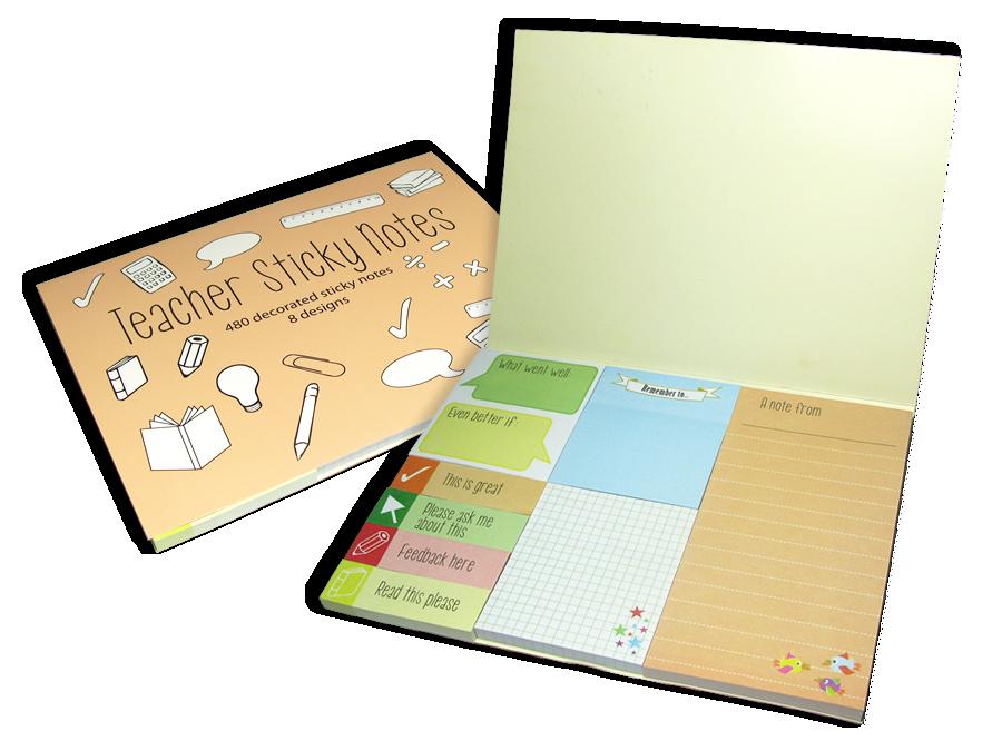 Notepad: Teacher Sticky Notes 2