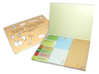 Notepad: Teacher Sticky Notes 2