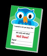 Notepad: A6 Owl