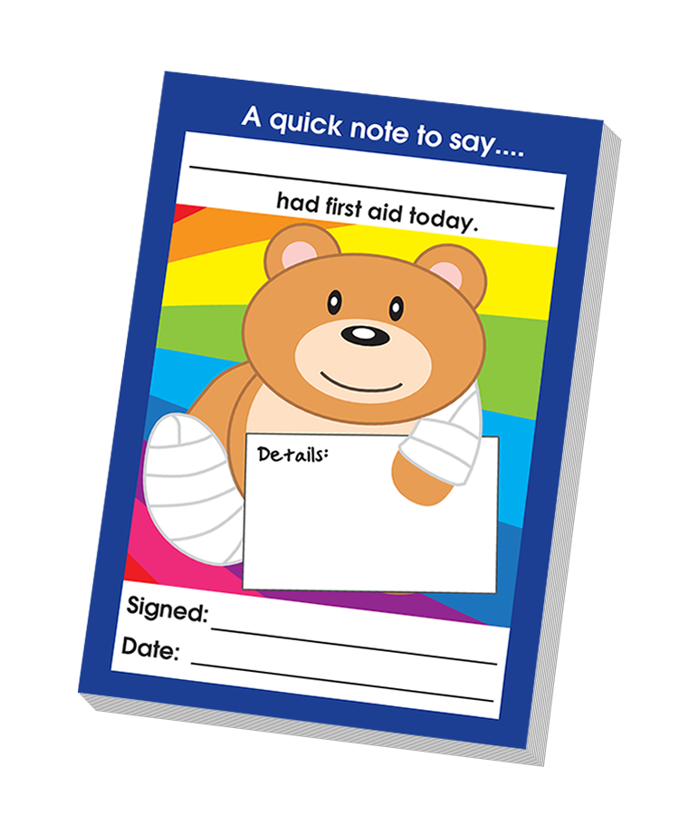 Notepad: Had First Aid Today Quick Notepad