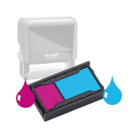 Ink Pad: Purple And Light Blue - For SSC11949 / SSC11953