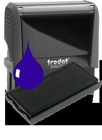 Ink Pad: Blue - For PR4915