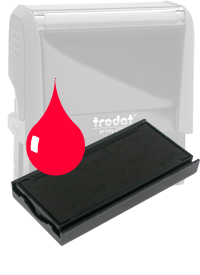 Ink Pad: Red - For PR4915