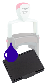 Ink Pad: Blue - For PF5206