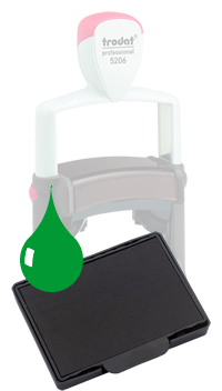 Ink Pad: Green - For PF5206