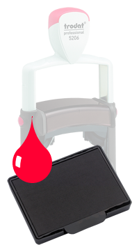Ink Pad: Red - For PF5206