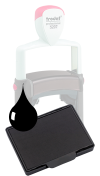 Ink Pad: Black - For PF5207