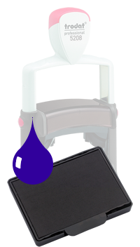 Ink Pad: Blue - For PF5208