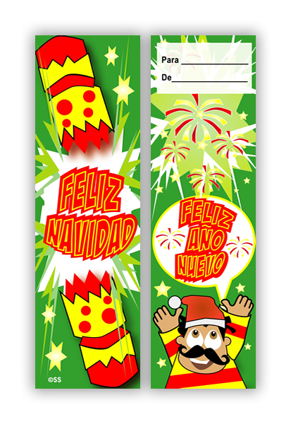 Bookmark: Spanish Christmas Cracker