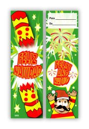 Bookmark: Spanish Christmas Cracker