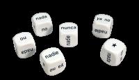 Games: Set of 6 Spanish Negatives Dice