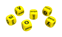 Games: Set of 6 Spanish Conjunctions Dice