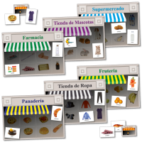 Games: Spanish Shopping