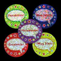 Sticker: Spanish Sparkling Variety Sheet