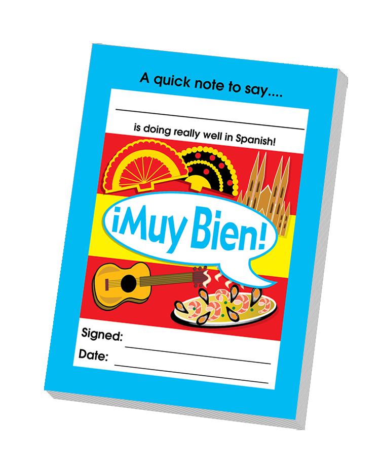Notepad: Muy Bien - Teacher Quick Notepad