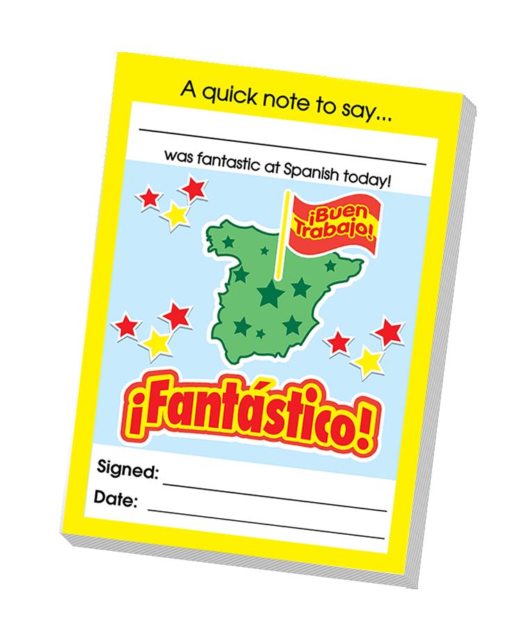 Notepad: Spanish Teacher Quick Notepad