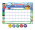 Home Learning Reward Charts And Stickers Set: Football