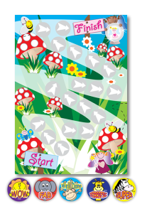 Toadstool A4 Chart - MS10799