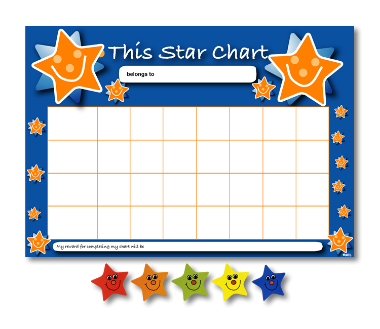 Star Charts and Star Sticker Pack - MS1500