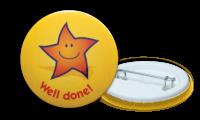 Well Done Reward Badges - 38mm