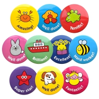 Badges: Mixed Praise Pack 38mm