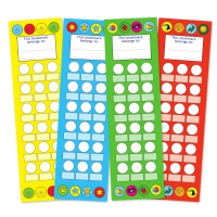 Bookmarks Mixed Pack - 4 Colours