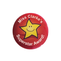 Sticker Factory Badge: Personalised - 38mm