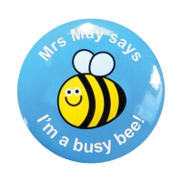Sticker Factory Badge: Personalised - 55mm