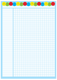 A2 Classroom Chart For Use With 15mm Stickers