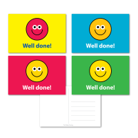 Smile Reward Well Done Postcards - Mixed Pack