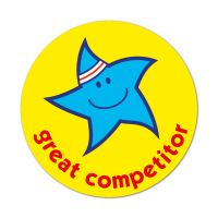 Great Competitor Sticker (38mm)