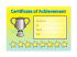 A5 Kudos Certificate Of Achievement, Pack Of 20