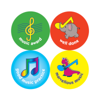 Music Reward Stickers