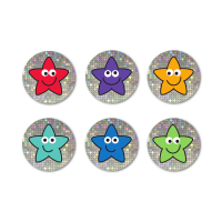 Sparkly Mini Star Stickers