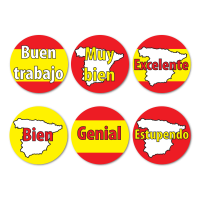 Spanish Language Reward Stickers