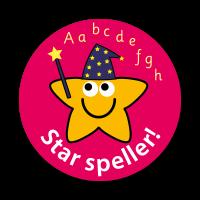 Star Speller Stickers (28mm)