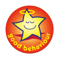 Halo Star - Good Behaviour Stickers (38mm)