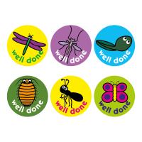 Minibeasts Stickers (15mm)