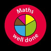Maths - Well Done Curriculum Stickers