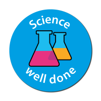 Science - Well Done Curriculum Stickers